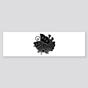 Ageha Butterfly Bumper Sticker