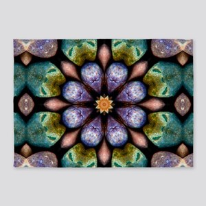 Boho Fairy Stones 5'x7'Area Rug