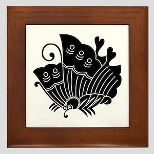 Ageha Butterfly Framed Tile