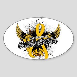Neuroblastoma Awareness 16 Sticker (Oval)