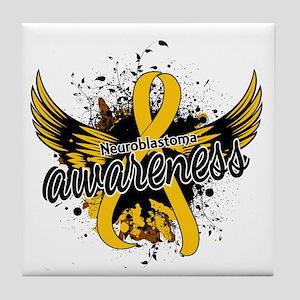 Neuroblastoma Awareness 16 Tile Coaster