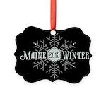 Maine 2015 Winter Ornament