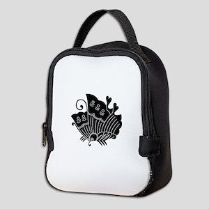 Ageha Butterfly Neoprene Lunch Bag