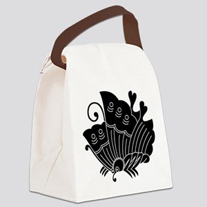 Ageha Butterfly Canvas Lunch Bag