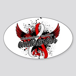 MDS Awareness 16 Sticker (Oval)