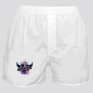 Male Breast Cancer Awareness 16 Boxer Shorts