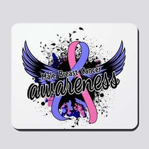 Male Breast Cancer Awareness 16 Mousepad