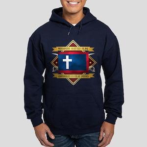 Missouri Battle Flag Hoodie