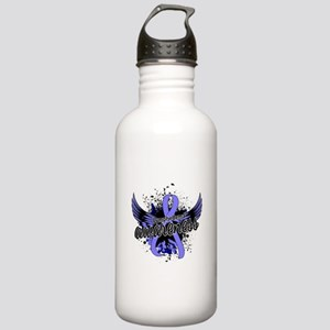 Lymphedema Awareness 1 Stainless Water Bottle 1.0L