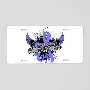 Lymphedema Awareness 16 Aluminum License Plate