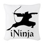 iNinja Woven Throw Pillow