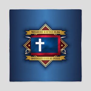 Missouri Battle Flag Queen Duvet