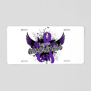 Lupus Awareness 16 Aluminum License Plate