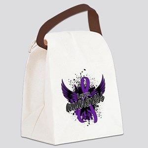 Lupus Awareness 16 Canvas Lunch Bag