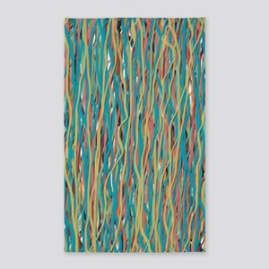 Painterly Silly String Area Rug