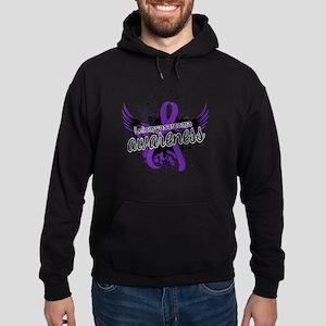 Leiomyosarcoma Awareness 16 Hoodie (dark)