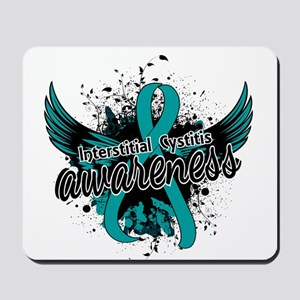 Interstitial Cystitis Awareness 16 Mousepad