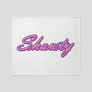 Shawty Throw Blanket
