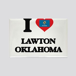 I love Lawton Oklahoma Magnets