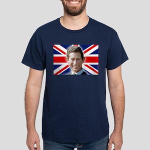 Patriotic! HRH Prince Charles Dark T-Shirt