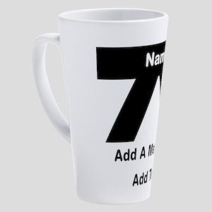 Black Belt 17 oz Latte Mug