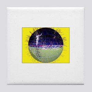 Drum & Bugle Corps Globe Tile Coaster