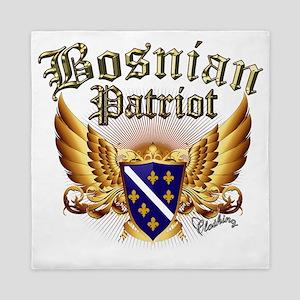 Bosnian Patriot Queen Duvet