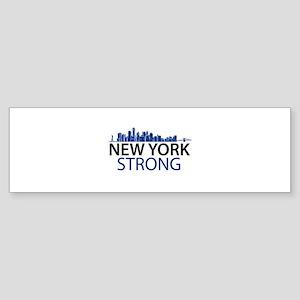 New York Strong - Skyline Bumper Sticker