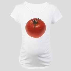 Fresh Tomato Maternity T-Shirt