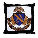 USS JOSEPHUS DANIELS Throw Pillow
