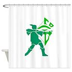 Notts Enlightened Shower Curtain