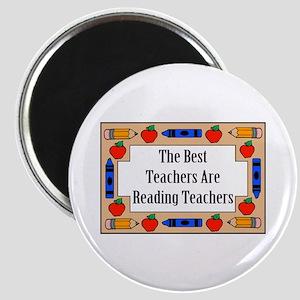 The Best Teachers Are Reading Teachers Magnet