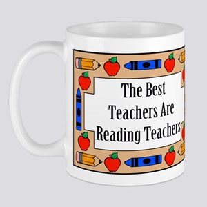 The Best Teachers Are Reading Teachers Mug