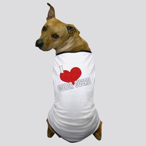 I Love Color Guard Dog T-Shirt