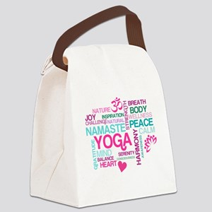 Yoga Inspirations Canvas Lunch Bag