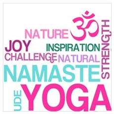 Yoga Inspirations Poster