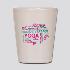 Yoga Inspirations Shot Glass