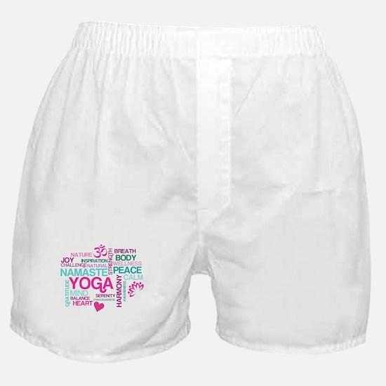 Yoga Inspirations Boxer Shorts