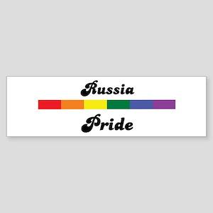 Russia pride Bumper Sticker