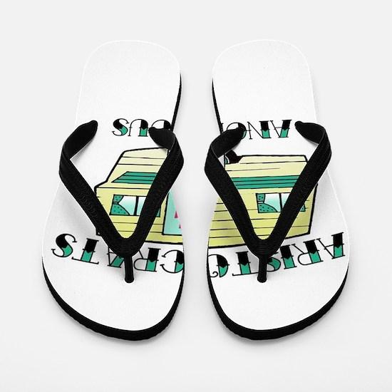 Aristocrats Anonymous Flip Flops
