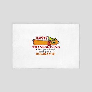 Happy? Thanksgiving 4' x 6' Rug