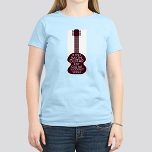 Guitar Lover Women's Light T-Shirt