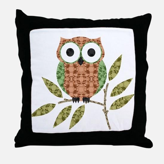 Unique Cute owls Throw Pillow