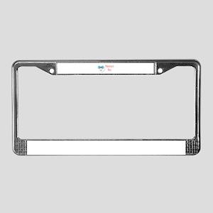 Mammy's Boy License Plate Frame