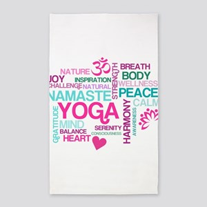 Yoga Inspirations Area Rug
