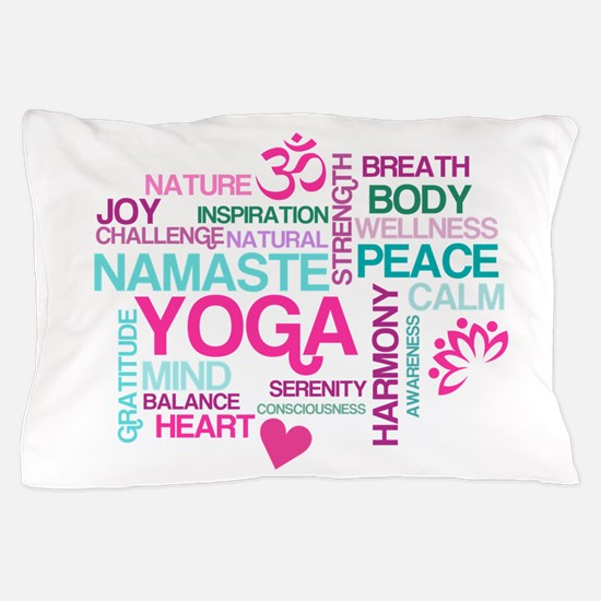 Yoga Inspirations Pillow Case