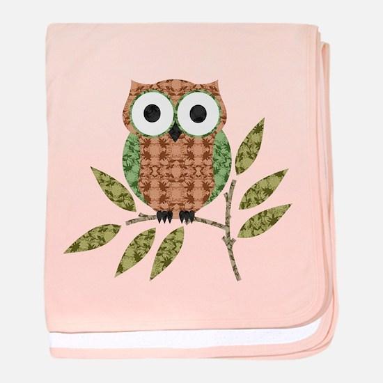 Cute Owl baby blanket