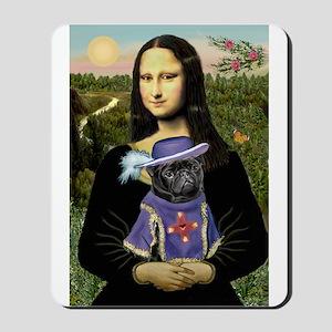 Mona & Sir Pug Mousepad
