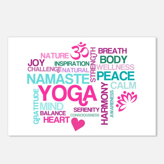 Yoga Inspirations Postcards (Package of 8)