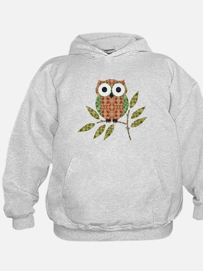 Funny Owl Hoodie